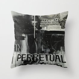 In Perpetual Motion Throw Pillow
