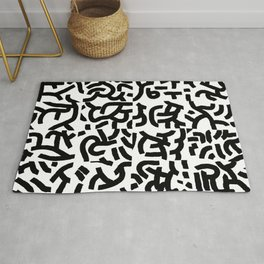 Fragments of Rhizome Paths no. 1 Rug