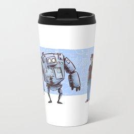 A Girl and her Robot Travel Mug