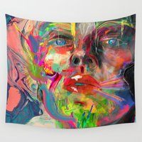 archan nair Wall Tapestries featuring Lyka by Archan Nair