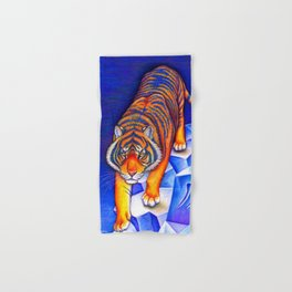 Chinese Zodiac Year of the Tiger Hand & Bath Towel
