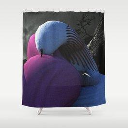 Embrace Hill Shower Curtain
