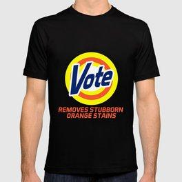 Vote Removes Stubborn Orange Stains T-shirt