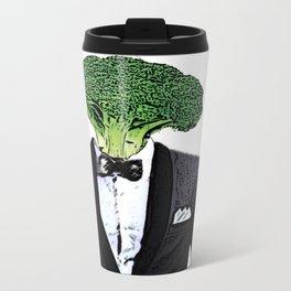 Mr. Broccoli Metal Travel Mug