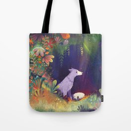 In the Forest Shadows Tote Bag