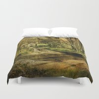 ford Duvet Covers featuring Hunworth Ford by J Coe Photography