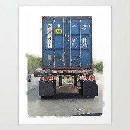 Daily Truck: 08/25/15 Art Print