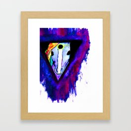 t r i c l o p s e corn.  Framed Art Print