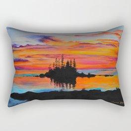 Island of Dreams by Teresa Thompson Rectangular Pillow