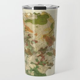 Vintage San Francisco Geological Map (1908) Travel Mug