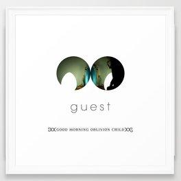 Guest Framed Art Print
