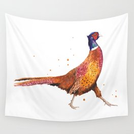 Pheasant Strut Wall Tapestry