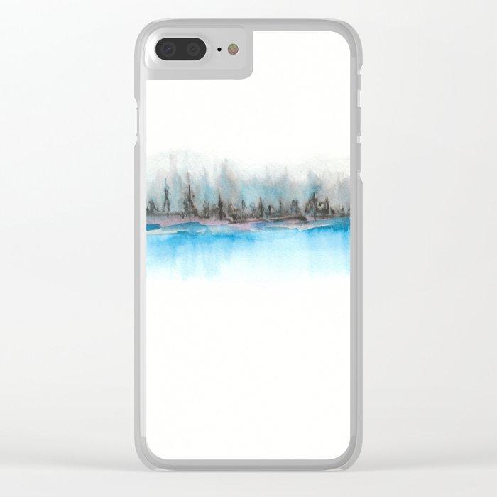 A 0 15 Clear iPhone Case