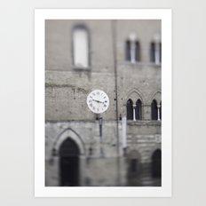 Siena Time Art Print
