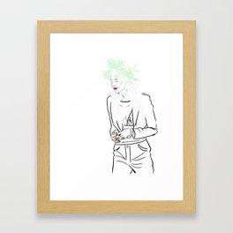 Lou Teasedale Framed Art Print