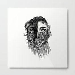 Angie Metal Print