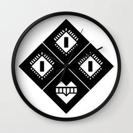 Tri-Eye Wall Clock