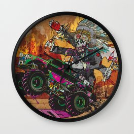 Wolves & Scandals Wall Clock