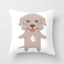 Slovakian Rough Haired Pointer Gift Idea Throw Pillow