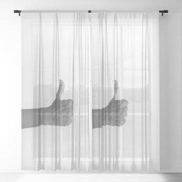 hands 3 - top.jpg Sheer Curtain