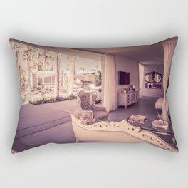 2130 Mid-Century Modern Stanbridge Estate Palm Springs Rectangular Pillow