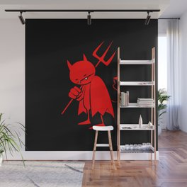 minima - sad devil Wall Mural