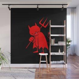 minima - sad devil Wall Mural