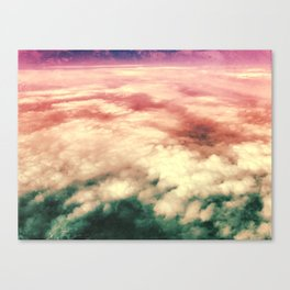 núvols Canvas Print