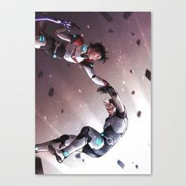 Keith & Shiro Canvas Print