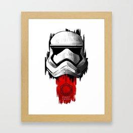 The First Order Framed Art Print