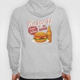 Burgers and Booze Hoody