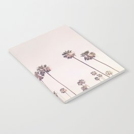 Sunny Cali Palm Trees Notebook