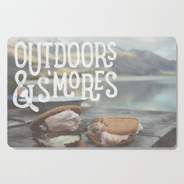 outdoors & S'mores Cutting Board
