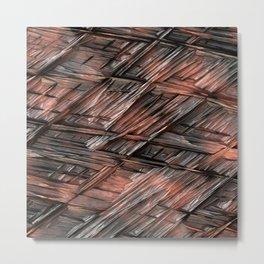 Grannys Hut - Structure 1B Metal Print