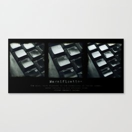Magnification Canvas Print