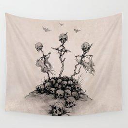 Pile of Skulls Wall Tapestry