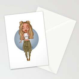 little jade  Stationery Cards