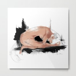 Fish-woman Metal Print