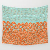 infinite Wall Tapestries featuring Infinite Wave by Picomodi