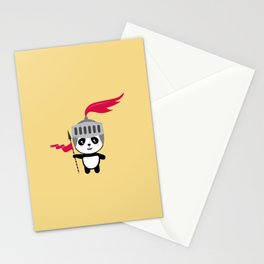 Cutest Panda Knight T-Shirt for all Ages Dsk7n Stationery Cards
