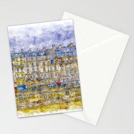 Rainy Paris Stationery Cards