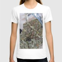medical T-shirts featuring Silver Afghan Medical Marijuana by BudProducts.us