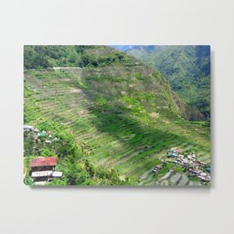 Batad Rice Terraces Metal Print