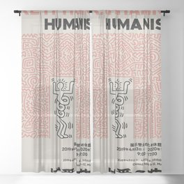 Humanism Japan Sheer Curtain