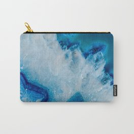 Royally Blue Agate Carry-All Pouch