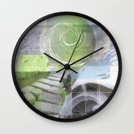 garden steps Wall Clock