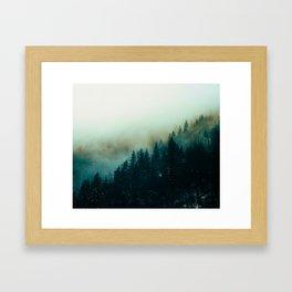 Foggy Magic Framed Art Print