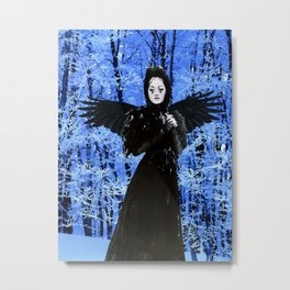 Nevermore - Edgar Allan Poe Metal Print