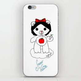 Snow White Care Bear iPhone Skin