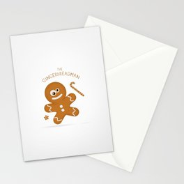 The Gingerbread Man Stationery Cards
